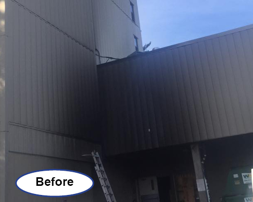 Power Washing Services truck exhaust clean up Delaware before