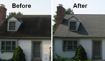 roof cleaning experts Delaware siding cleaning