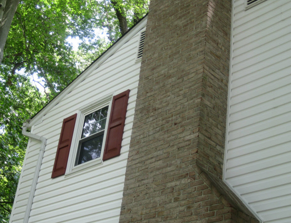 home siding cleaning power washing after