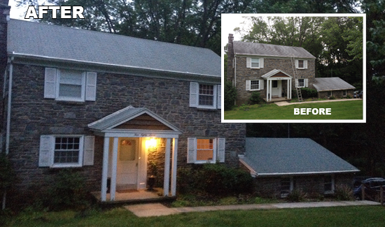 Soft Wash Roof Cleaning Specialists North Delaware Sparkling Image