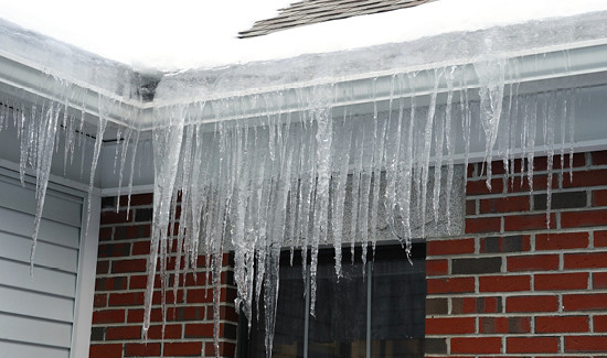 ice daming gutter cleaning, repair, installation delaware